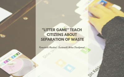 """Litter game"" teach citizens about separation of waste"