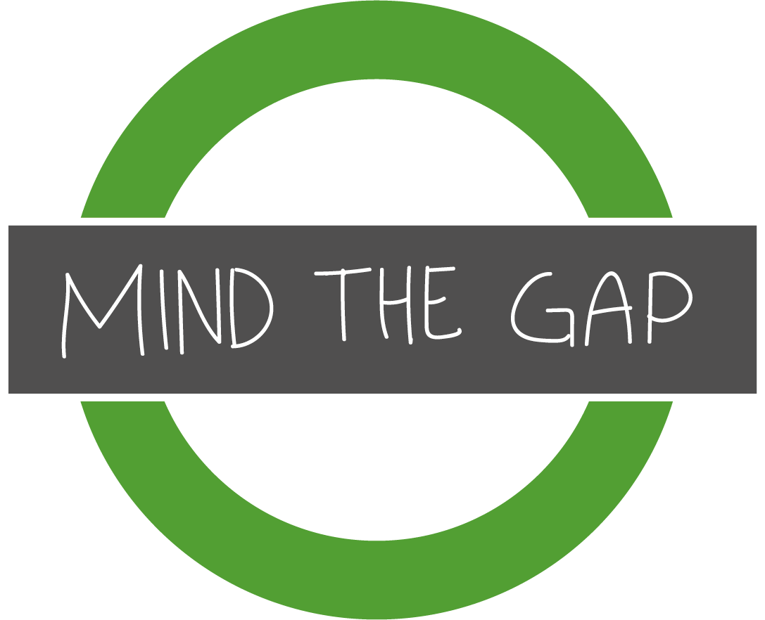 BIS Ressource City Mind the gap sign