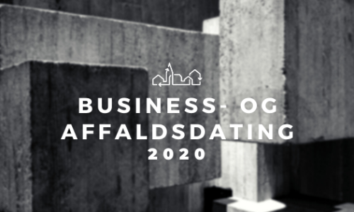 BUSINESS- OG AFFALDSDATING 2020(1)