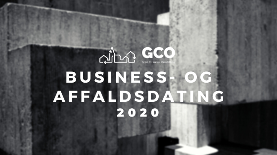 BUSINESS- OG AFFALDSDATING 2020 RC + GCO